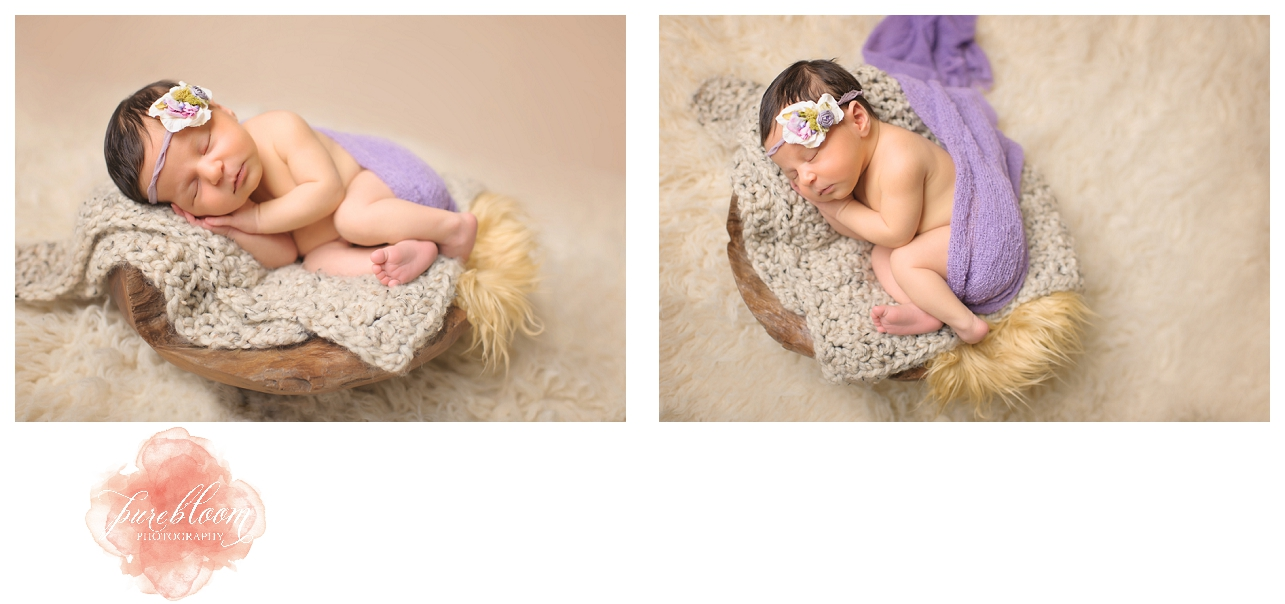 Tampa Newborn Photographer|Pure Bloom Photography|7dy old Gwyneth