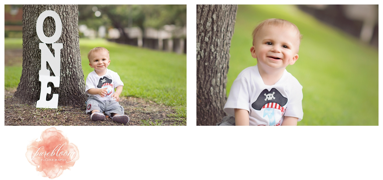 one year session|south tampa child photographer|pure bloom photography
