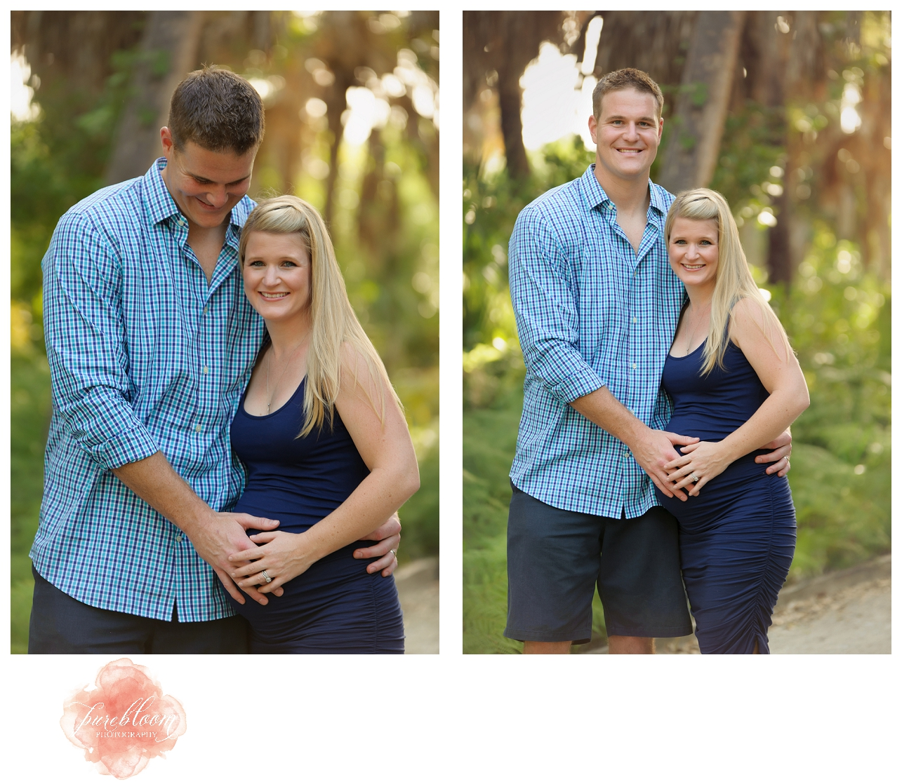 Ft Desoto Maternity Session | Tampa & St Pete Newborn Photographer | Pure Bloom Photography