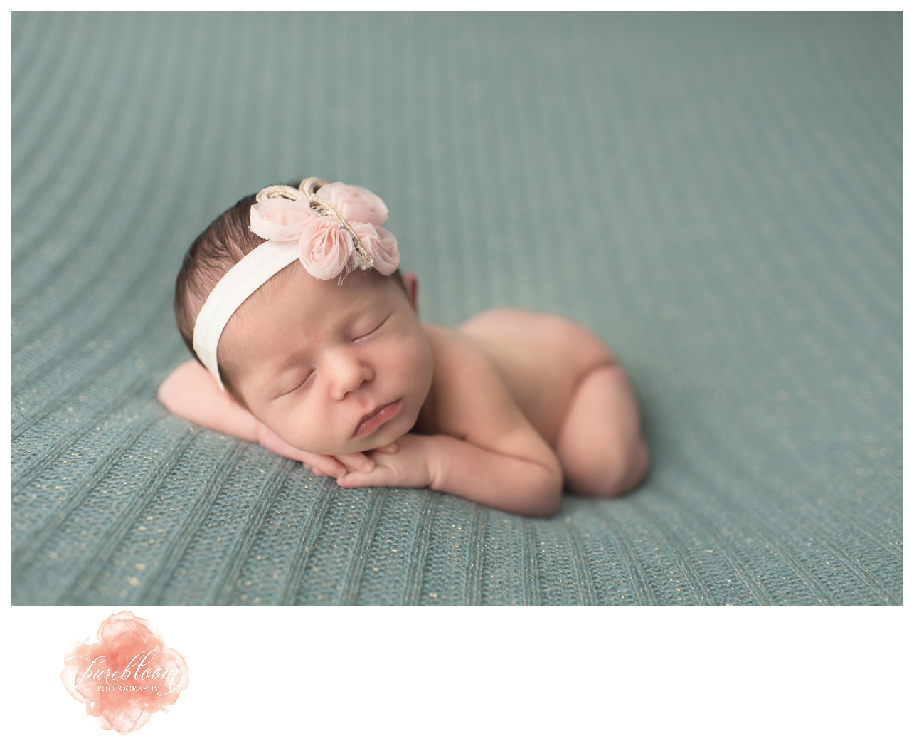 Baby Evie | Tampa Newborn Photographer | Pure Bloom Photography