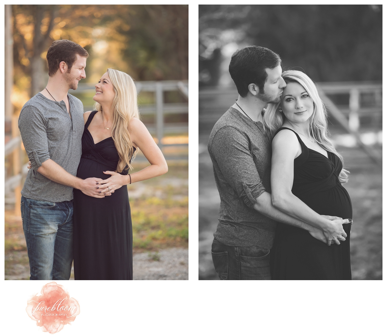Tampa outdoor Maternity Photographer | Pure Bloom Photography|Amber and Tom